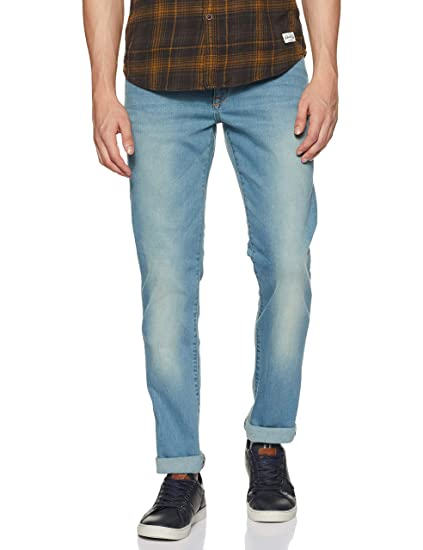 Allen Solly Men's Super Skinny Jeans Men's Jeans at amazon
