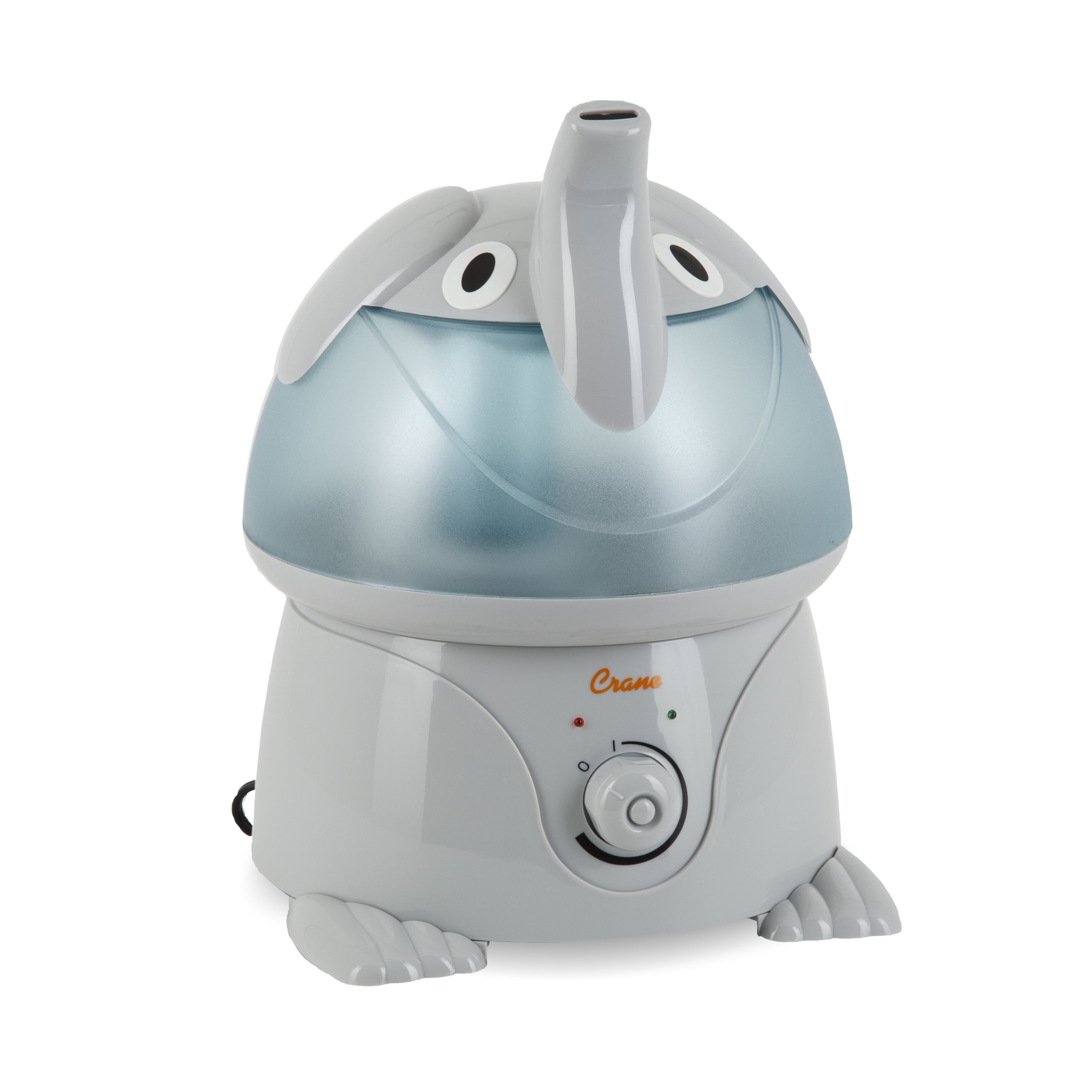 Crane Filter-Free Cool Mist Humidifiers for Kids, Elephant by Crane