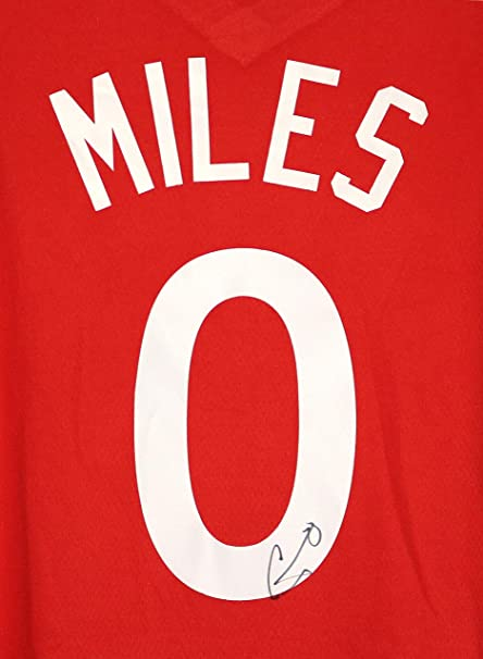 156fb8b36ab ... wholesale c.j. miles toronto raptors signed autographed red 0 custom  jersey 12286 a5ac8