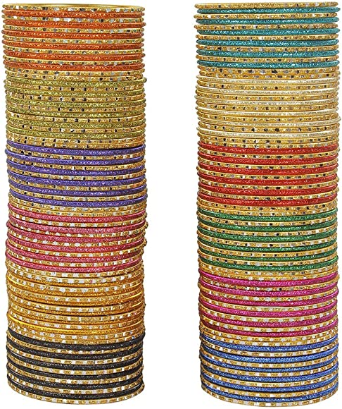 Glamorous Bollywood Fashion Indian Bangles Box Multi Color Party wear  Bangles Jewelry