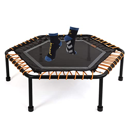 Ampel 24 - Mini cama elastica hexagonal 110 cm/Fitness trampolin ...