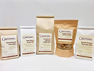 product image for Homestead Gristmill — Non-GMO, Chemical-Free, All-Natural Homestead Breakfast Variety Pack (With Porridge)