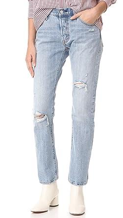 0fd2014e0c7 Levi's Women's 501 Jeans, Denim Rebel, 32 at Amazon Women's Jeans store