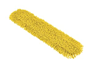 Rubbermaid Commercial Products Maximizer Dust Mop Pad and EZ Access Scraper, 36in, Replacement Pad
