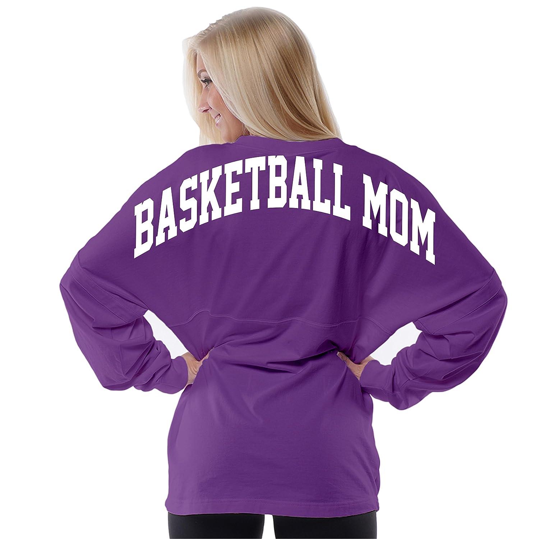 Basketball Mom Oversized Boyfriend Pom Pom Jersey