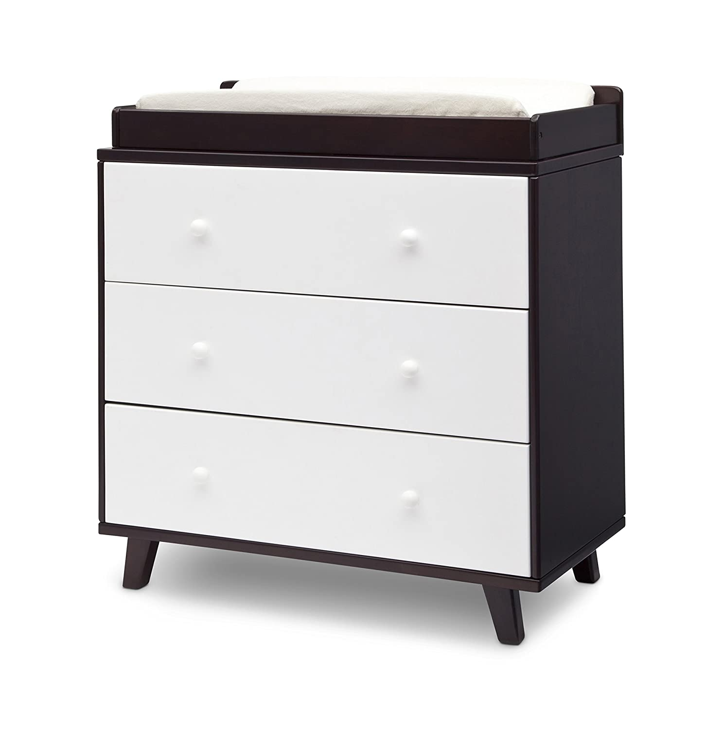 wagon drawers merlin drawer at dressers with changing sparrow product dresser black base oeuf slate