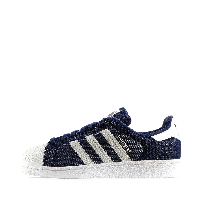 adidas Originals Adidas Originals Superstar Weave Zapatillas de Malla para Hombre Azul OscuroBlanco 41 13 EU