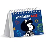 Mafalda 2018 Calendario de escritorio - Azul (Spanish Edition)