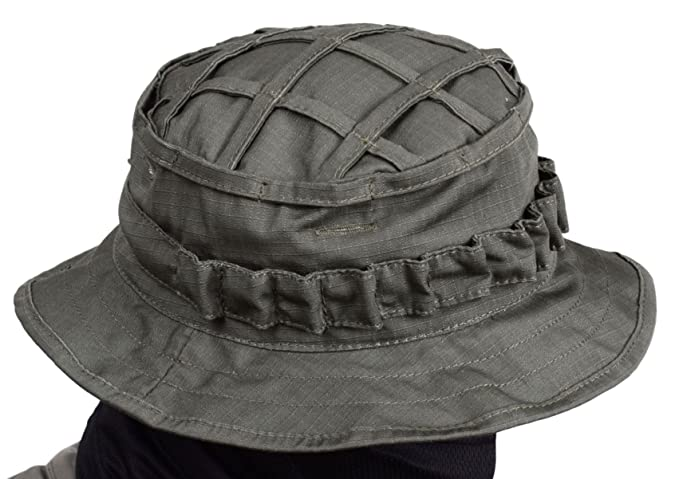 68f4811947d Amazon.com   ODINN Boonie Hat Panama Original Russian Army (A-TACS AU)    Sports   Outdoors