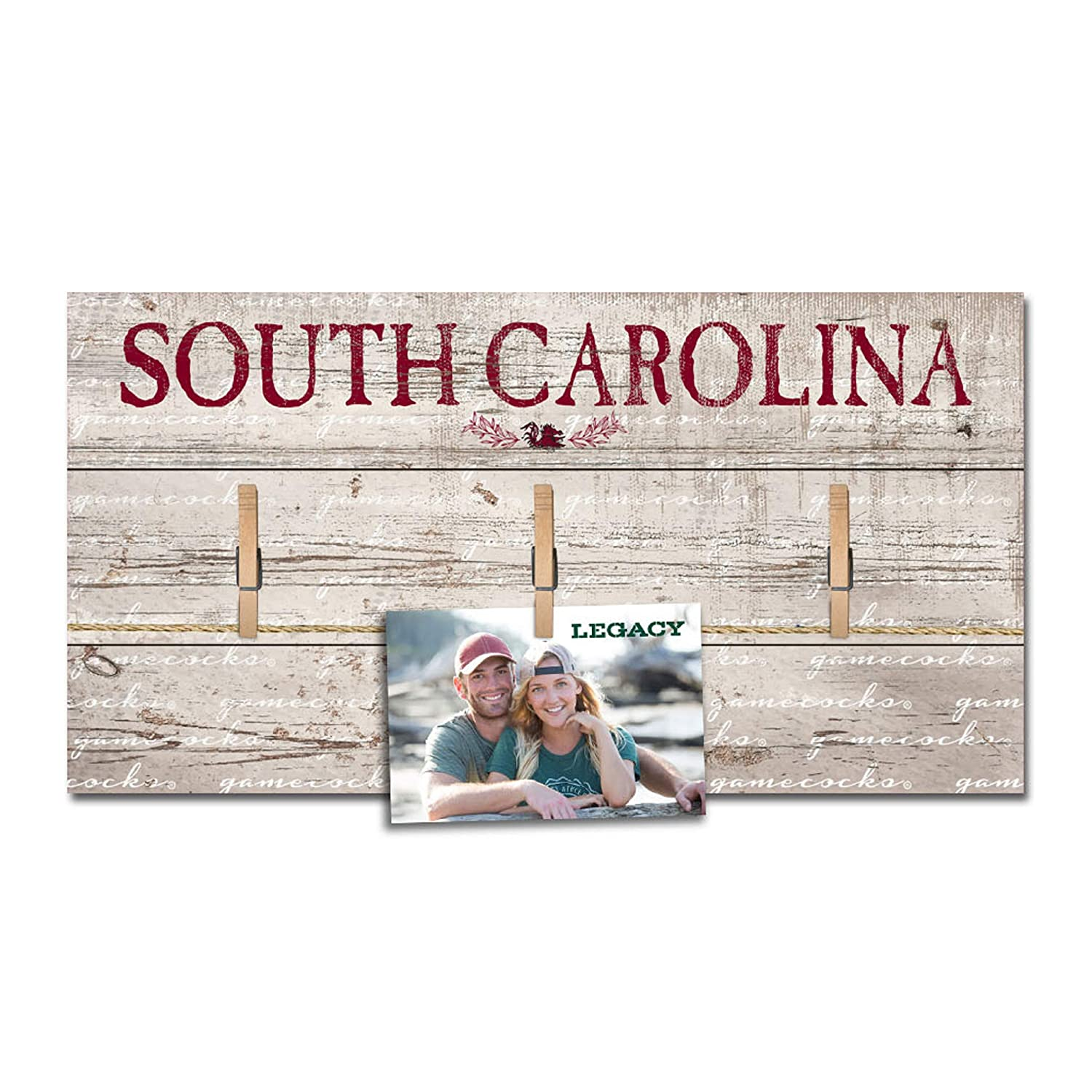 L2 Brands NCAA Unisex-Adult Hanging Photo Board 10x20