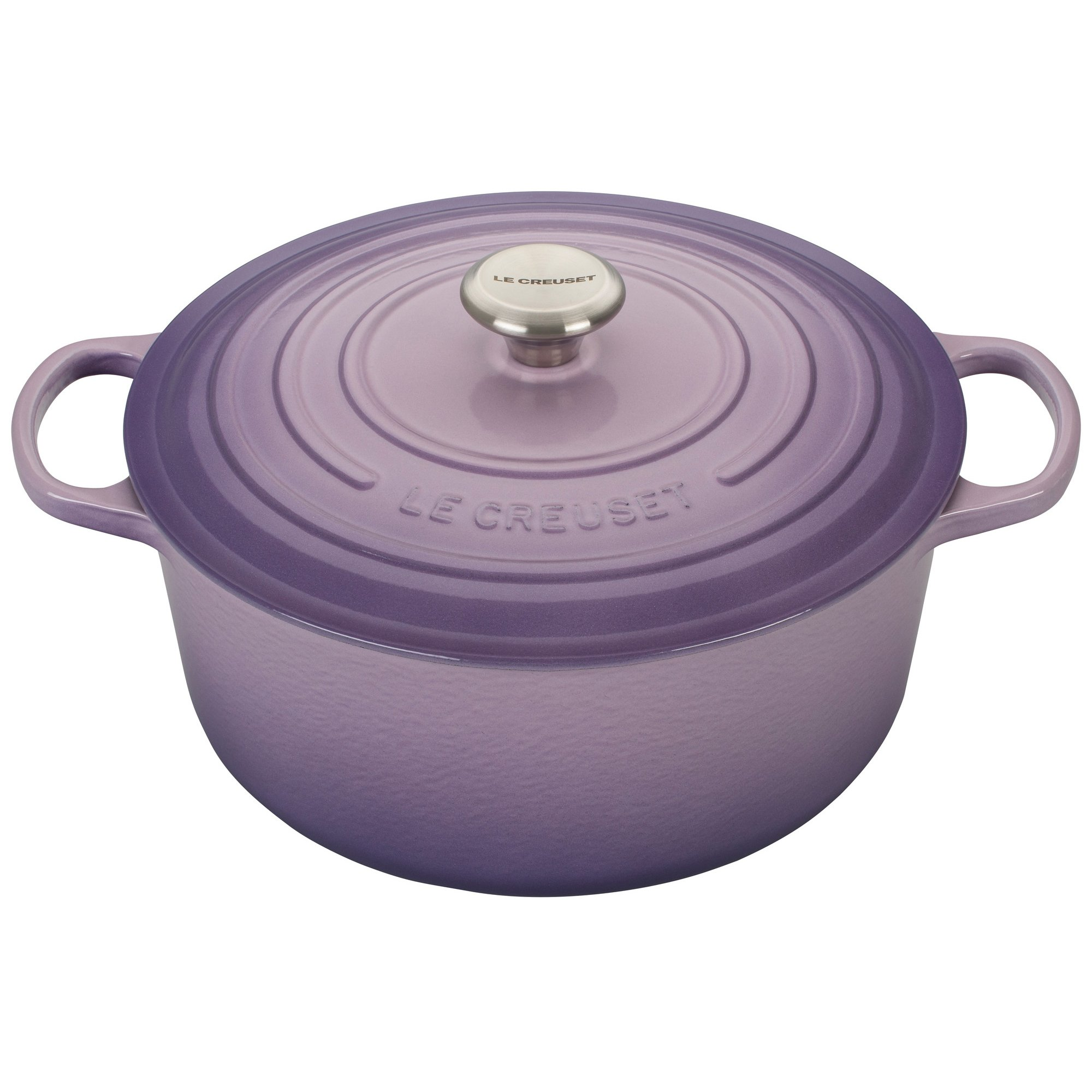 Le Creuset Signature Provence Enameled Cast Iron 7.25 Quart Round Dutch Oven