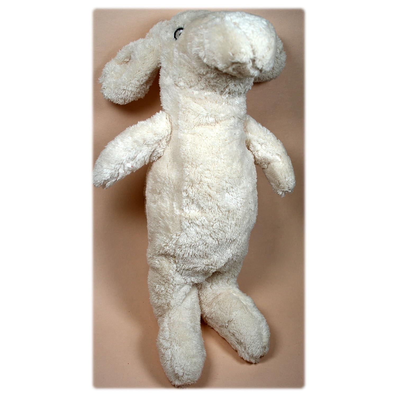 Ikea plástico animales Peluche Tassa perro blanco cálido. Altura aprox. 30 cm: Amazon.es: Juguetes y juegos