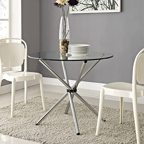Modway Baton 36 Modern Kitchen and Dining Table