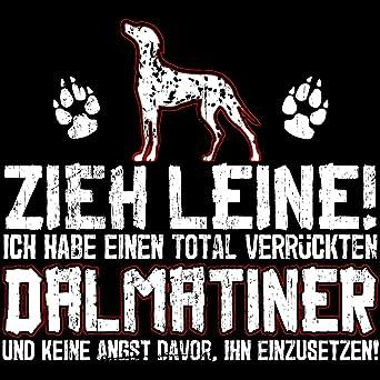Rhodesian Ridgeback Zieh Leine Damen T-Shirt Spruch Frauchen Hunde Rasse Lustig