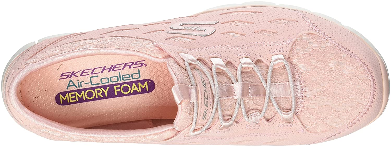 Amazon.com | Skechers Womens Gratis-Chic Craze Slip on Trainers, Pink (Light Pink), 5 UK 38 EU | Fashion Sneakers