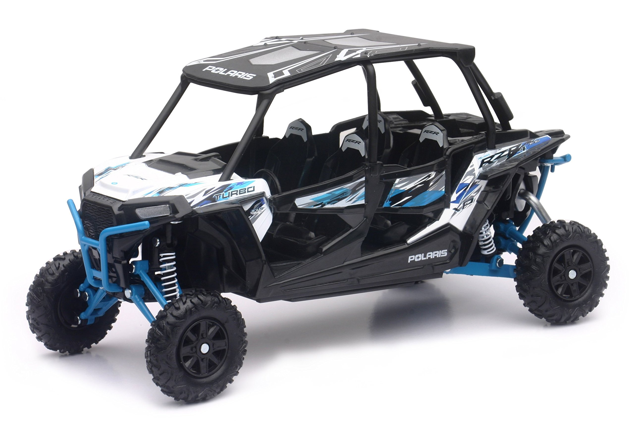 Polaris RZR XP 4 Turbo EPS 1:18 Scale (Spectra Orange)