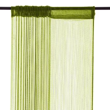 20304 Fadengardine Fadenstore Vorhang mit Ösen Raumteiler