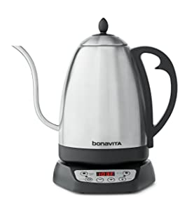 Bonavita 1.7L Variable Temperature Kettle Featuring Gooseneck Spout, BV382518V