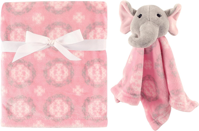 Boy Fox Hudson Baby Plush Blanket with Plush Toy Set