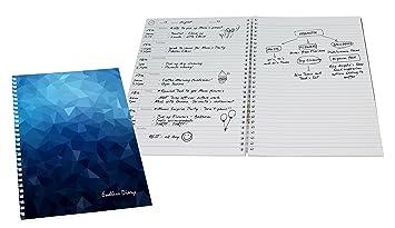 Agenda sin fechas escritas y libreta de notas de 52 semanas ...