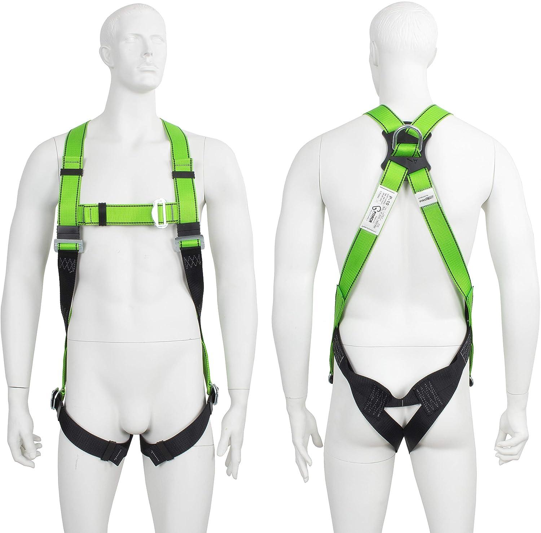 G-Force Arnés de seguridad de altura de cuerpo completo con ...