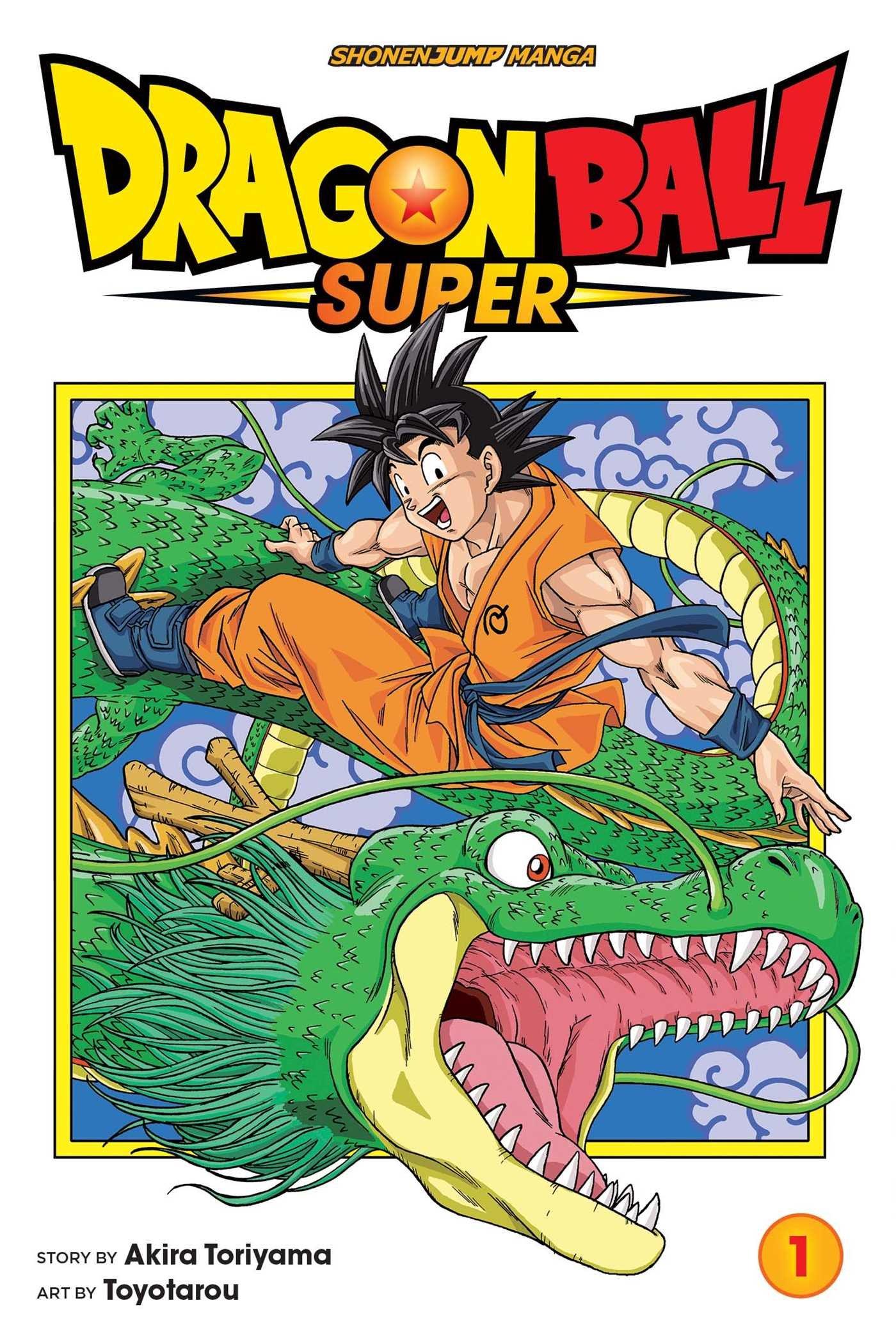 Amazon Com Dragon Ball Super Vol 1 1 9781421592541 Toriyama Akira Toyotarou Books