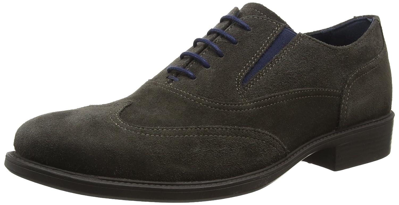 TALLA 42 EU. Geox Uomo Carnaby H, Zapatos de Cordones Oxford para Hombre
