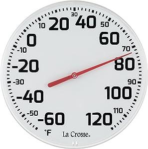 LaCrosse 104-1522 La Crosse 8 Round Dial Thermometer