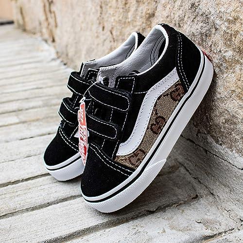 1bdae69890da Vans Old Skool x Gucci Custom Handmade Uni-Sex Toddlers Shoes ...