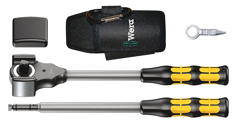 5-teilig Wera 8002 C KOLOSS All Inclusive Set mit 1//2-Antrieb 05133862001