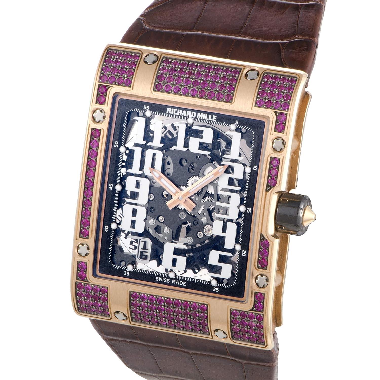 Richard Mille RM 016 - Reloj de Pulsera, diseño de rubí, Color Oro Rosa: Amazon.es: Relojes