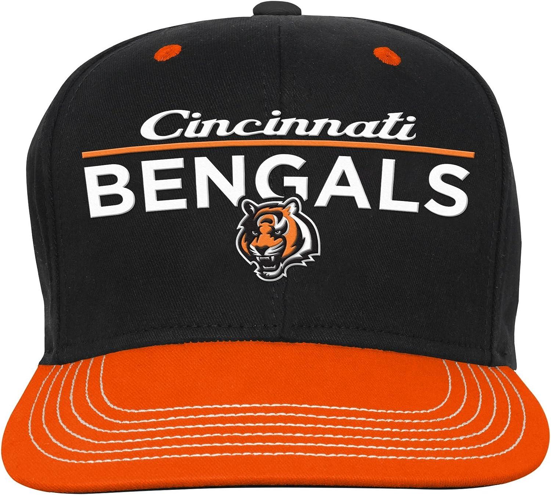 Outerstuff NFL NFL Youth Boys Retro Bar Script Flatbrim Snapback Hat