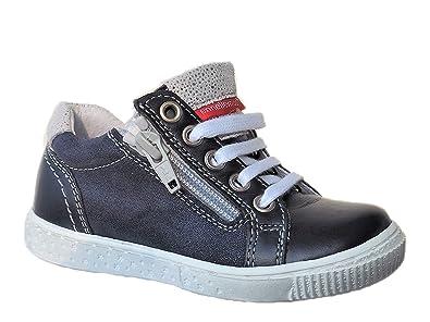 size 40 85c49 efdf8 ennellemoo® Mädchen-Kinder-Halbschuhe-Sneaker- Echt Leder ...