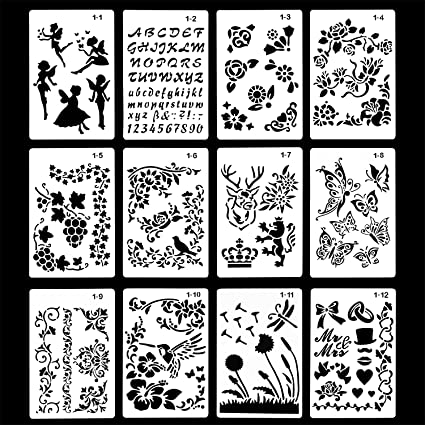 Amazon. Com: finger angel 16 pcs designs nail art stamping stamp.