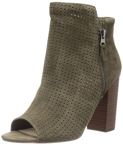 Jessica Simpson Women's Keris Ankle Bootie, Dark Olive, ...