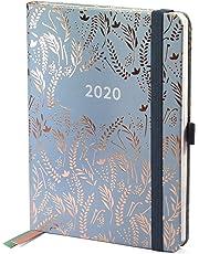 Boxclever Press Everyday Taschenkalender 2020. Planer 2020 Wochenplaner, Seiten für Budget, To-Do-Listen und Monatsübersichten. Handlicher Kalender 2020 von Januar bis Dezember (Silbergrau)