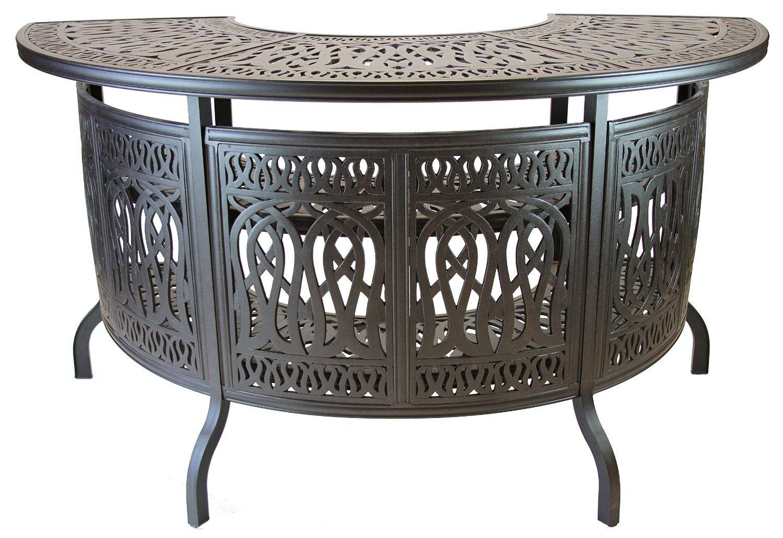 Amazon.com: Elizabeth Cast Aluminum Powder Coated Party Bar Table   Antique  Bronze: Garden U0026 Outdoor Part 92