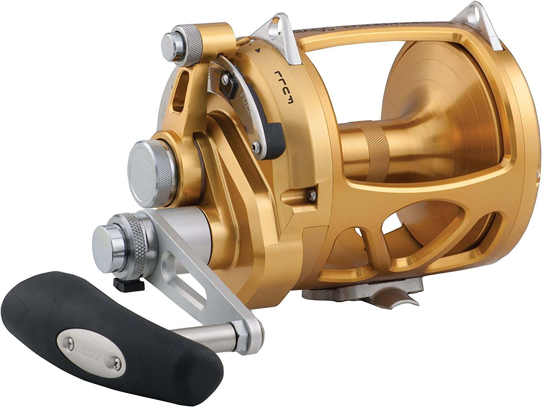 Penn int50visw International visw International Vis 2速度釣りリール