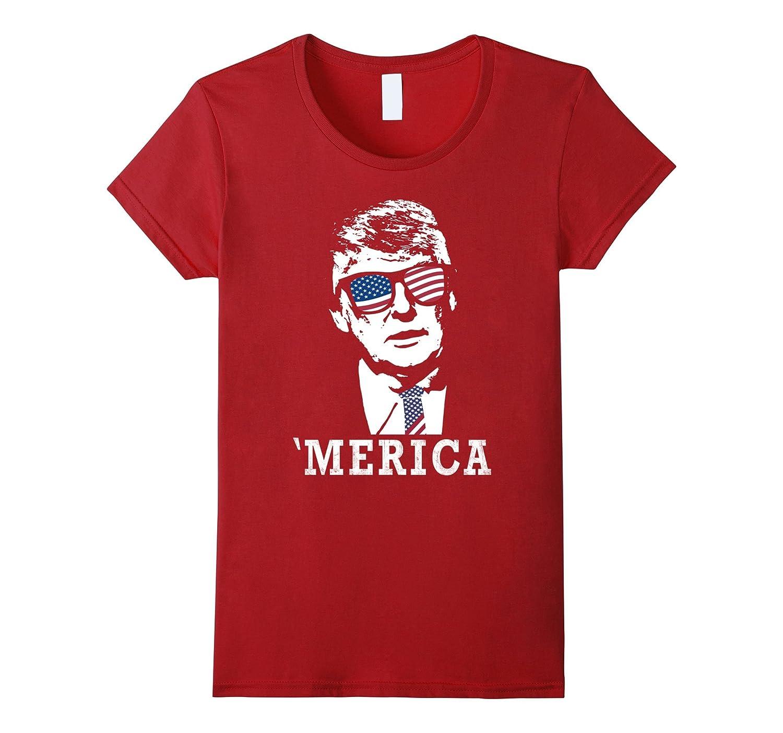 'Merica – Patriotic Trump 4th Of July Shirt