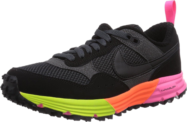 Nike Lunar Pegasus Trail, Zapatillas de Running Hombre^Mujer, Negro (Black/Black-Anthracite-FRC Grn), 41 EU: Amazon.es: Zapatos y complementos