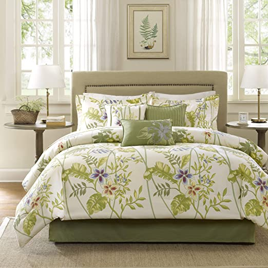 Amazon.com: Madison Park Cozy Comforter Nature Scenery Design All