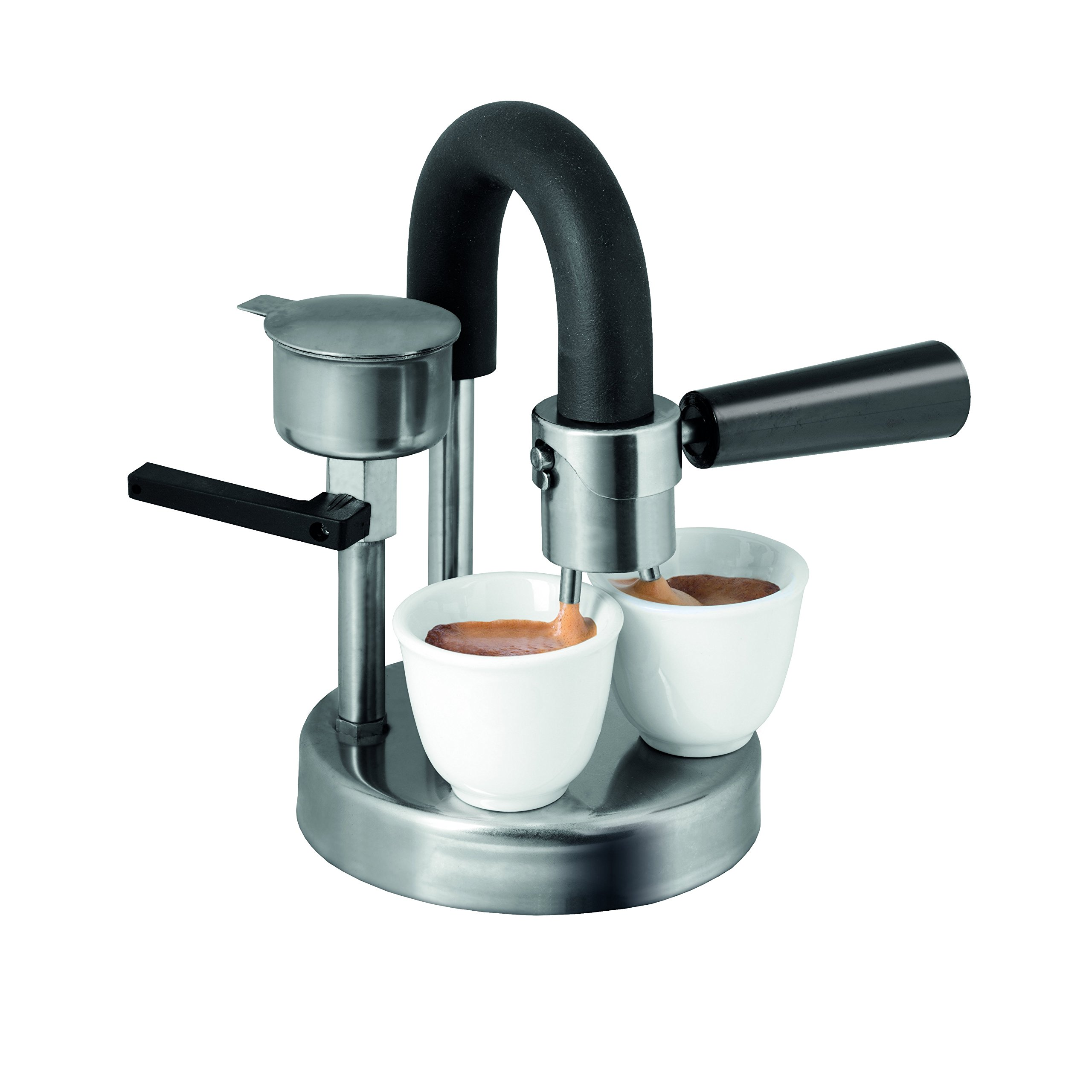 KAMIRA Moka Express 1/2 Cups Stovetop Espresso Maker. The perfect gift! Made in  Italy by KAMIRA (Image #3)