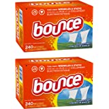 Bounce Fabric Softener Sheets, Outdoor Fresh, 240 Coun, 2-Pack