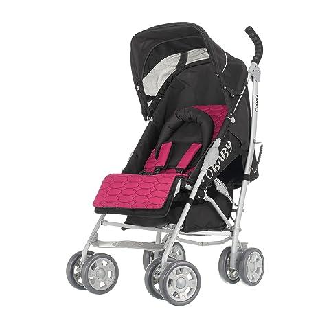 Obaby - Aura Deluxe Plata cochecito (rosa): Amazon.es: Bebé