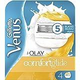 Gillette Venus & Olay women's razor blade refills, 4 count