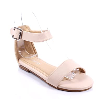 3b2ec41b2 Other Cute Ankle Strappy Buckle Silp on Casual Girls Summer Sandals Youth  Kids Shoes Size New