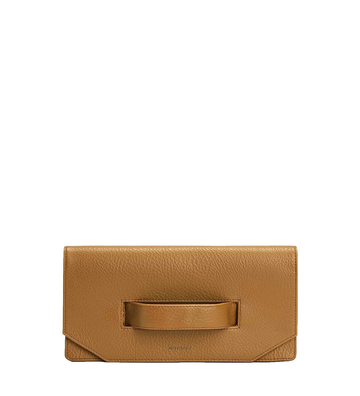 Mustard Yellow Curry Matt /& Nat Abiko Dwell Clutch Handbag