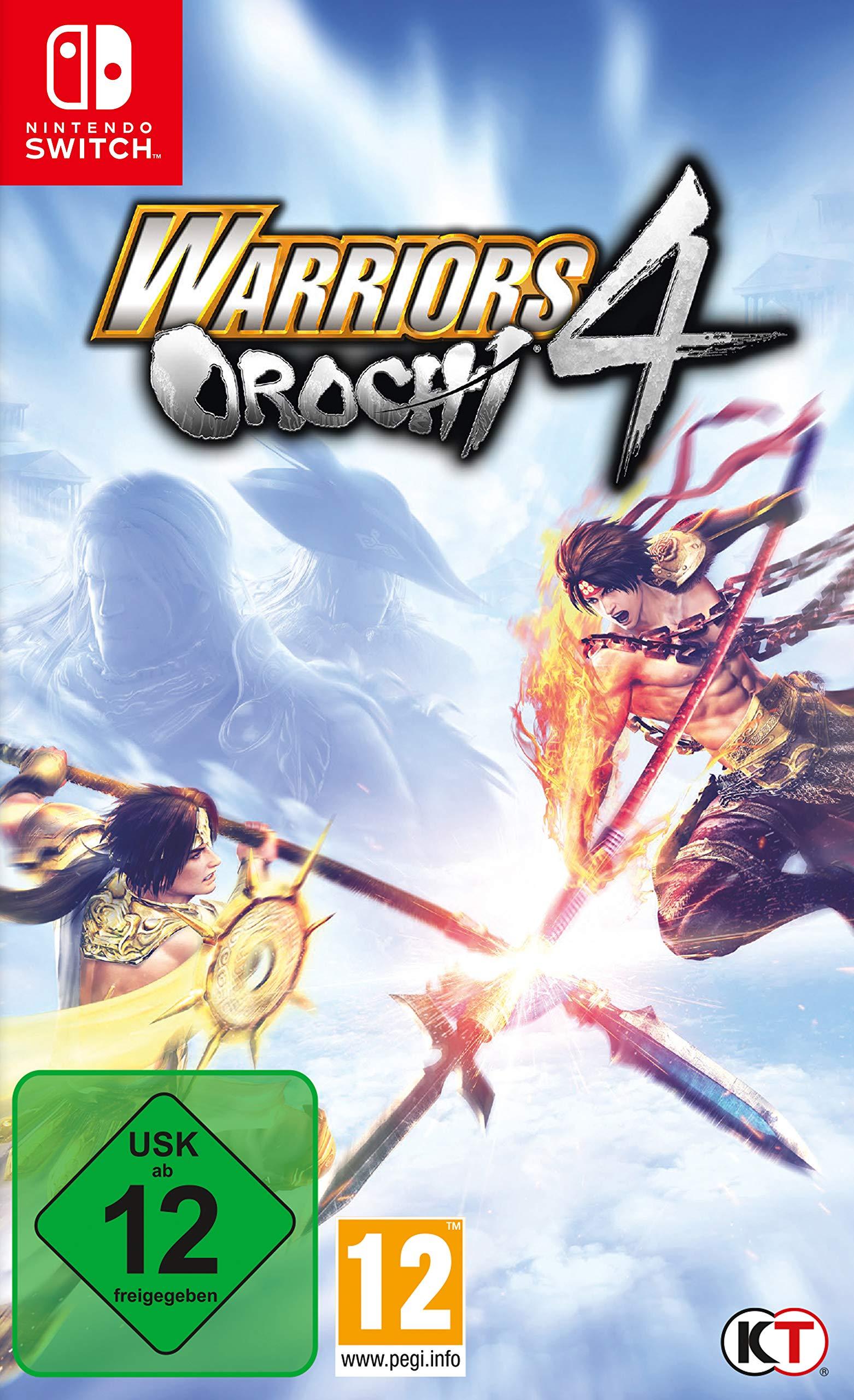 Warriors Orochi 4 (Nintendo Switch): Amazon.es: Libros