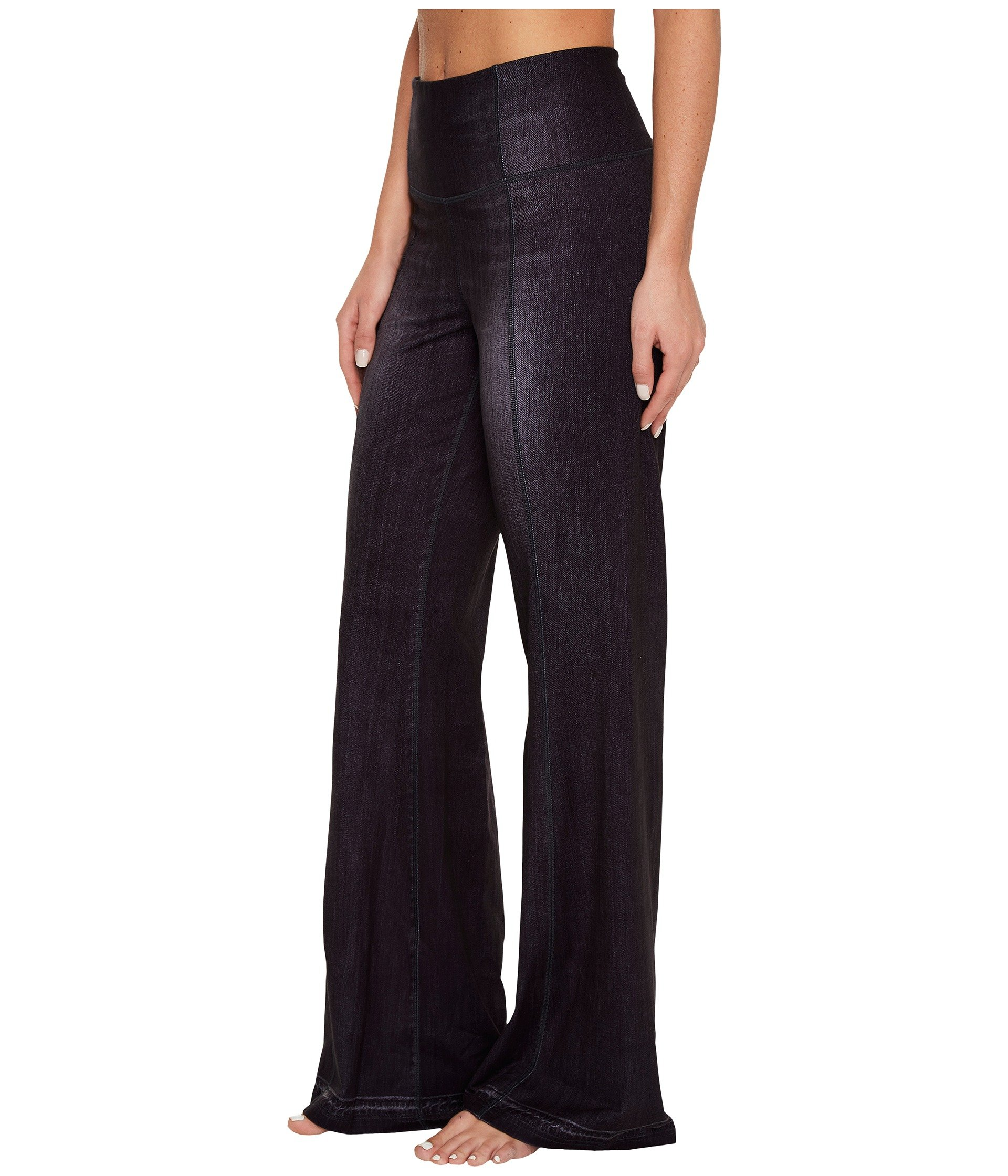 Lucy Women's Indigo Flare Pants Black Indigo Pants by Lucy (Image #3)