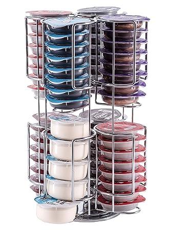 Tassimo Porta-cápsulas | Sostiene 64 Cápsulas sobre una base giratoria | Calidad Babavoom T11 Invencible Garantizada: Amazon.es: Hogar
